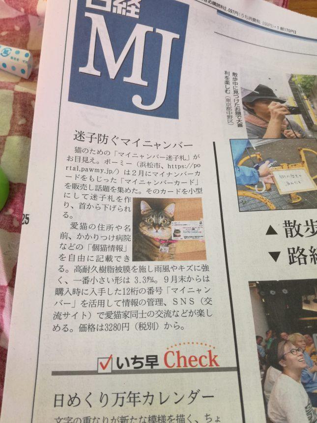 MJマイナンバー猫